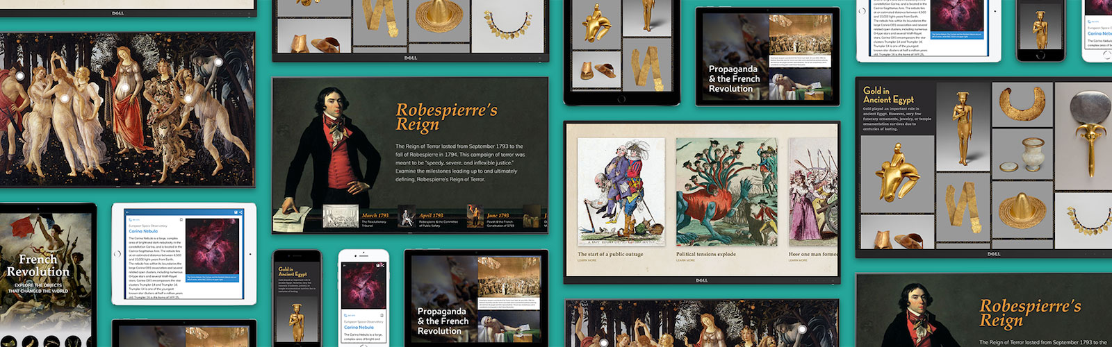 Responsive design for museum apps